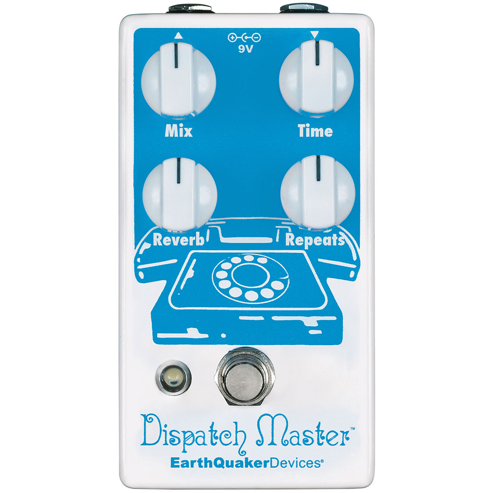 1 EarthQuaker Devices Dispatch Master V3 Delay and Reverb Pedal