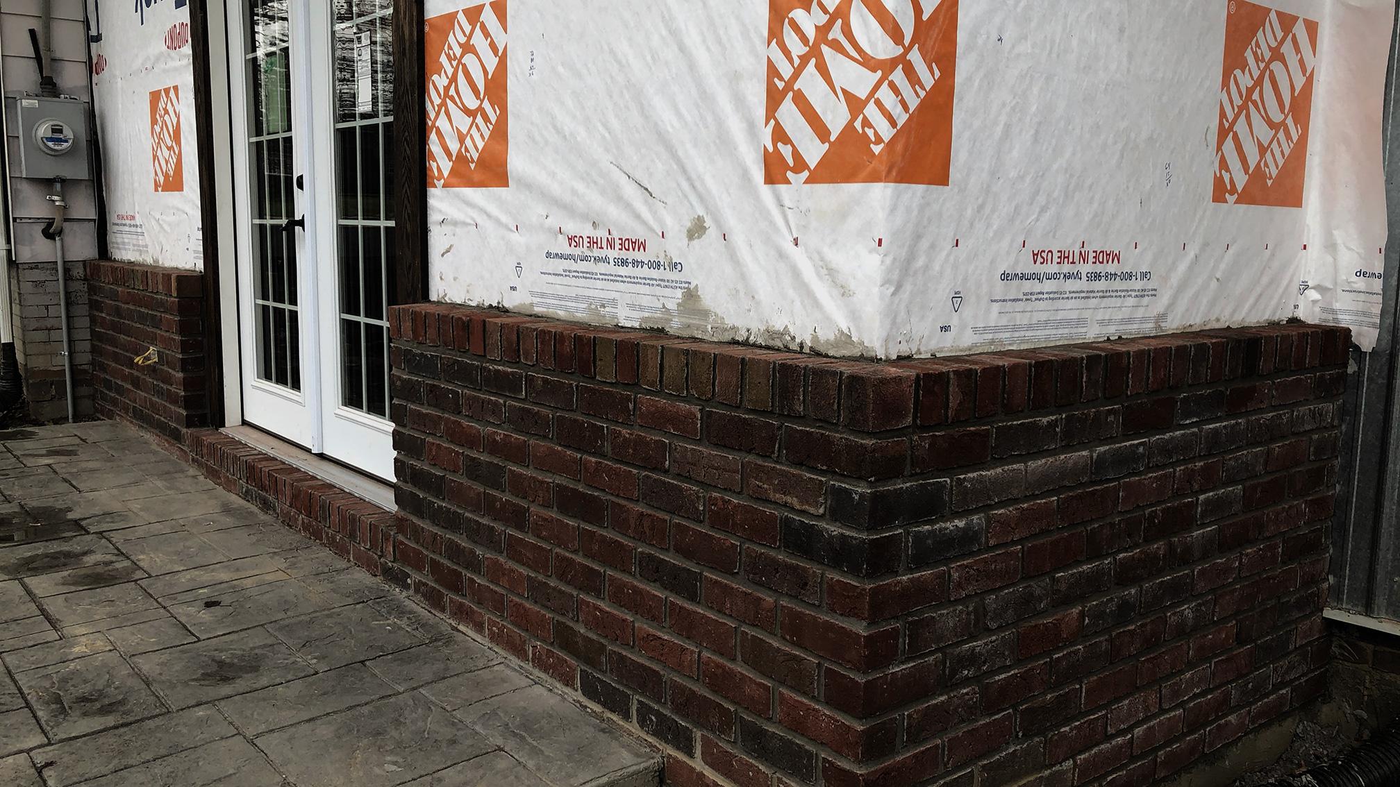 Construction Project front door