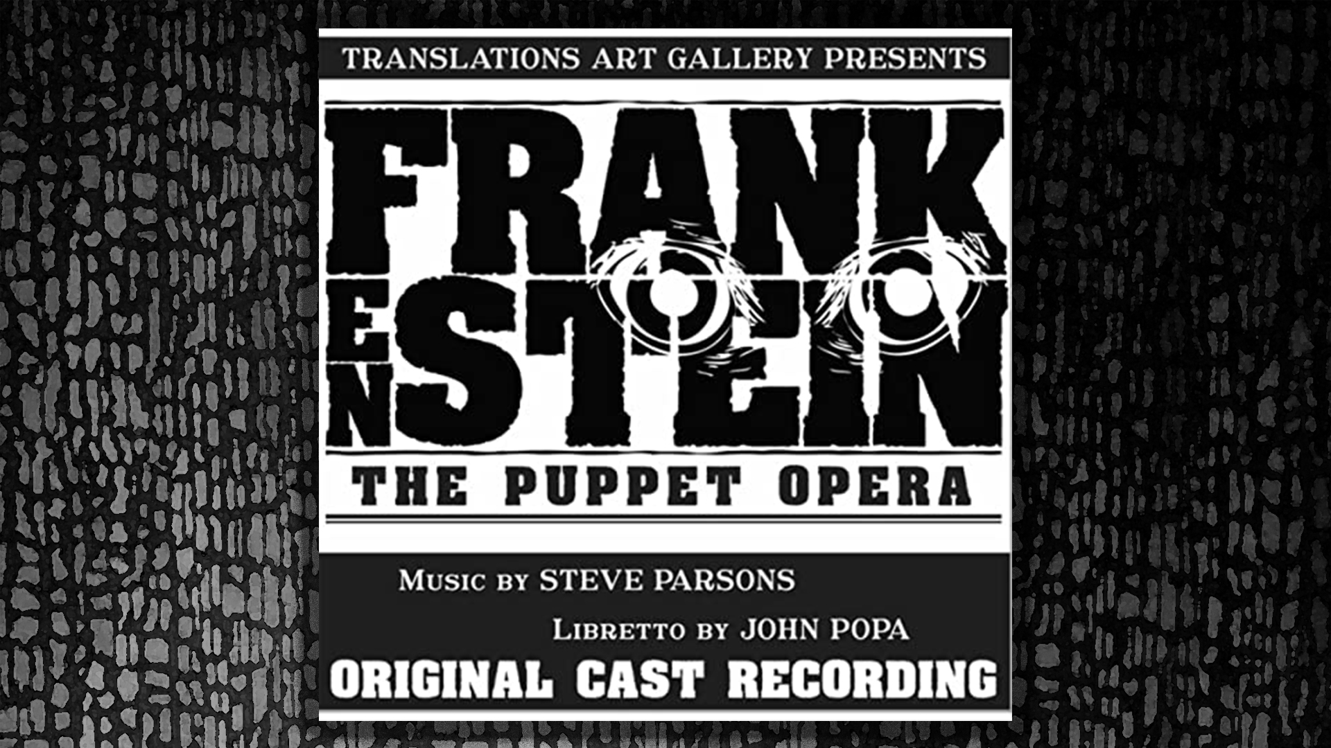 Frankenstein the puppet opera, The Players Guild
