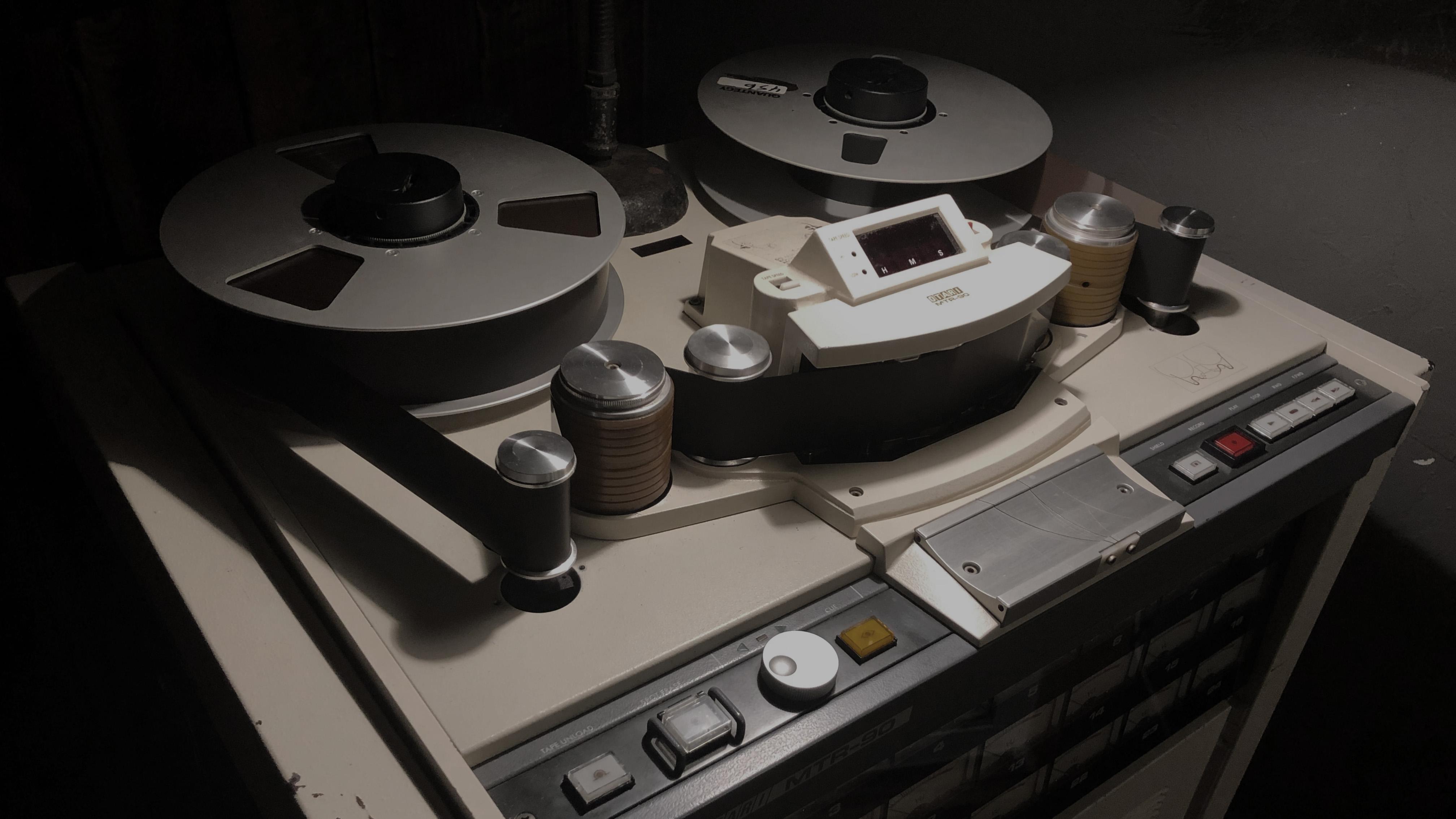 Otari MTR90 MKII 24 track tape machine