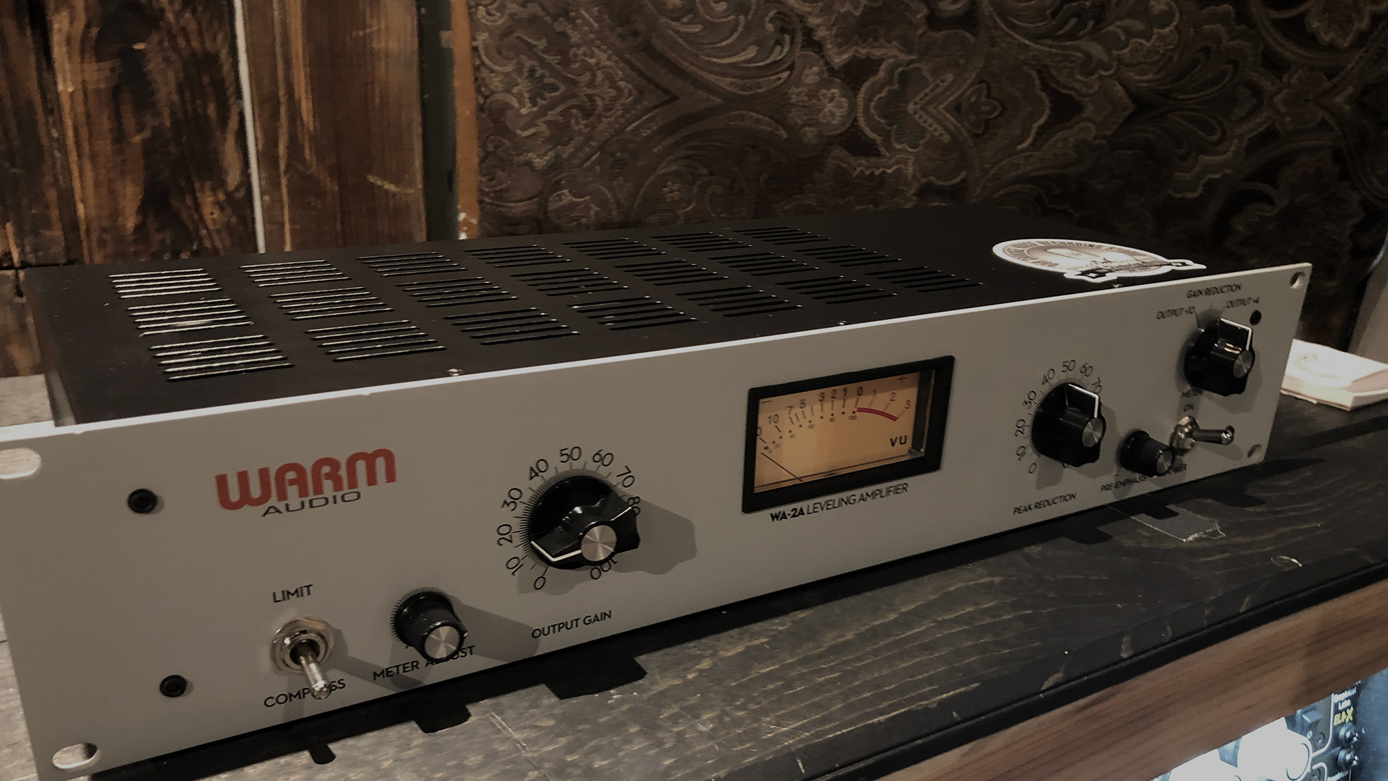 WA-2a on Controlroom Rack